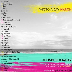 foto a day March